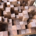 Акустический диффузор Skyline 640х640х215мм (брус 50мм), масло