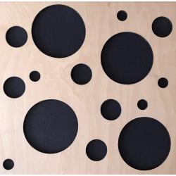 Акустическая панель Woodpanel Bubble 500x500x58мм