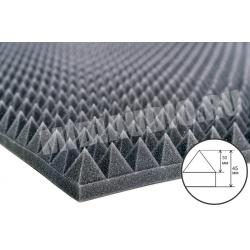 Акустический поролон Пирамида 30мм (~ 2000x1000x45мм)