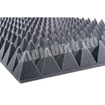 Акустический поролон Пирамида 100мм. (2000x1000x115мм)