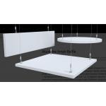 Панель акустическая подвесная Акустилайн Akustiline Ampir Baffle 1200х200х40мм (0,24 кв.м)